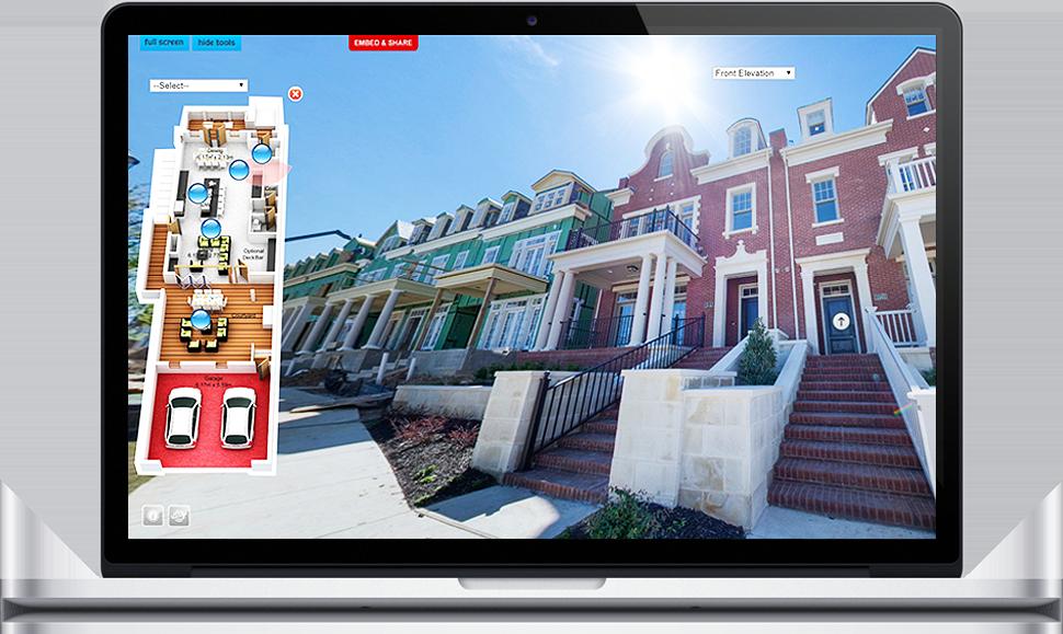 1.Macbook play virtual tour